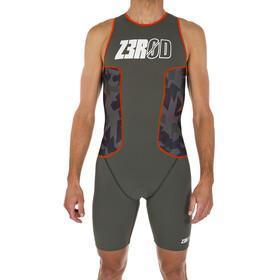 Z3R0D Racer Strój triathlonowy Mężczyźni, camo